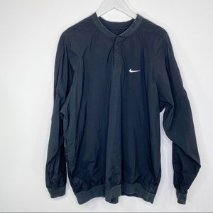 Nike Black golf windbreaker jacket XXL